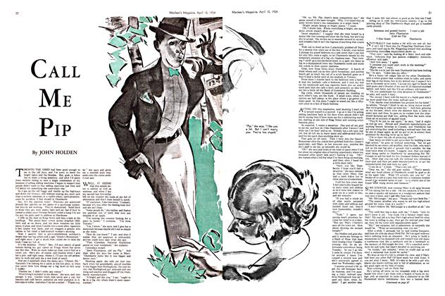Article Preview: CALL ME PIP, April 1934 | Maclean's