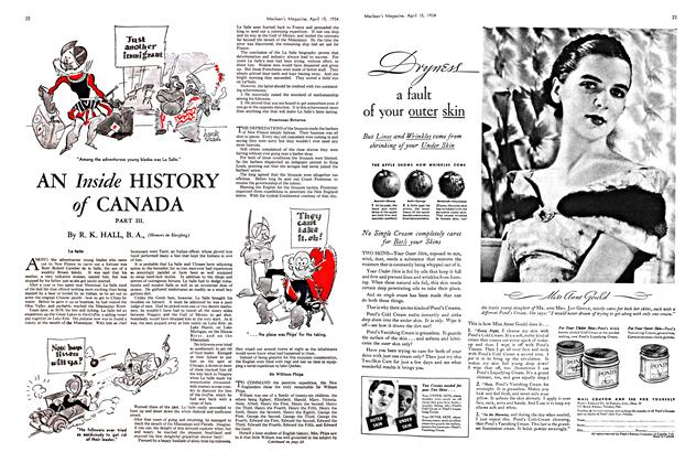 Article Preview: AN Inside HISTORY of CANADA, April 1934 | Maclean's