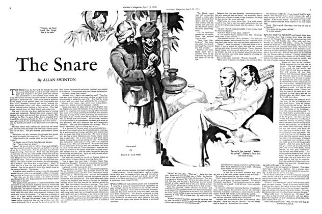 Article Preview: The Snare, April 1934 | Maclean's