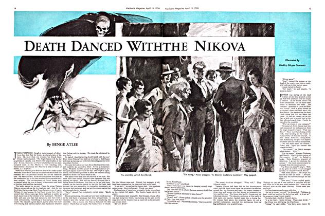 Article Preview: DEATH DANCED WITH THE NIKOVA, April 1934 | Maclean's
