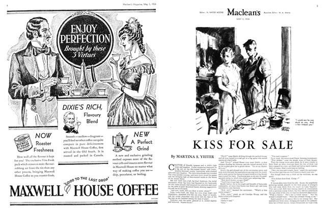 Article Preview: KISS FOR SALE, May 1st 1934 1934 | Maclean's