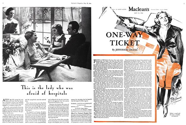 Article Preview: ONE-WAY TICKET, May 15th 1934 1934 | Maclean's