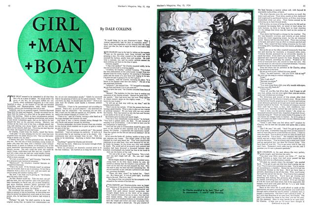 Article Preview: GIRL +MAN +BOAT, May 15th 1934 1934 | Maclean's