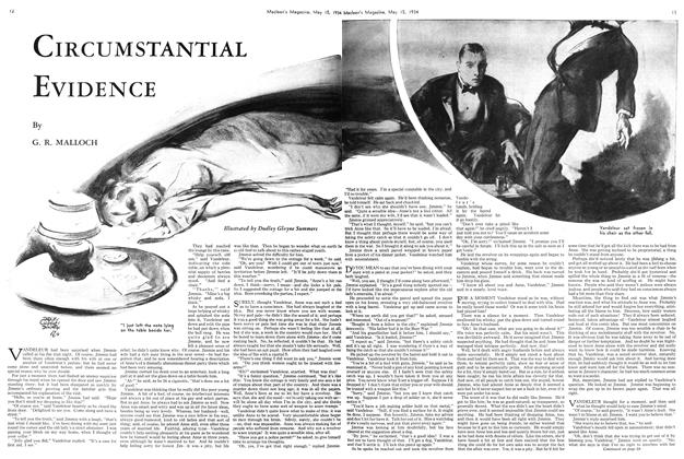Article Preview: CIRCUMSTANTIAL EVIDENCE, May 15th 1934 1934 | Maclean's
