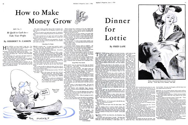 Article Preview: Dinner for Lottie, June 1st 1934 1934 | Maclean's