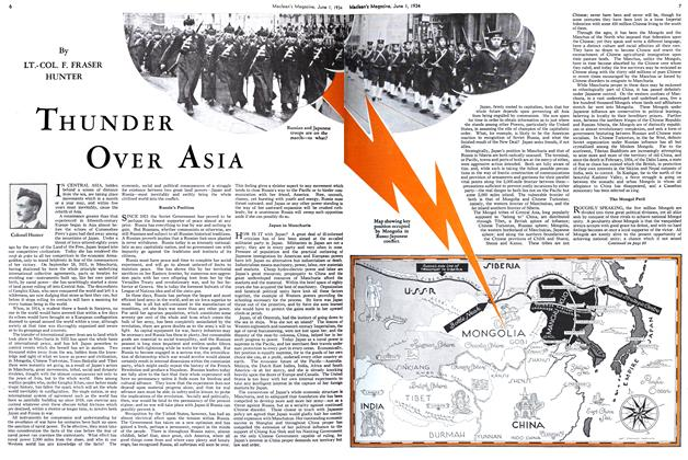 Article Preview: THUNDER OVER ASIA, June 1st 1934 1934 | Maclean's