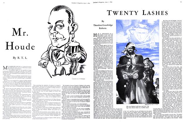 Article Preview: TWENTY LASHES, June 1st 1934 1934 | Maclean's