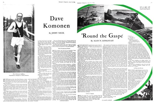 Article Preview: 'Round the Gaspé, June 15th 1934 1934 | Maclean's