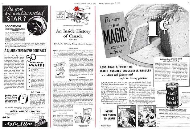 Article Preview: An Inside History of Canada, June 15th 1934 1934 | Maclean's