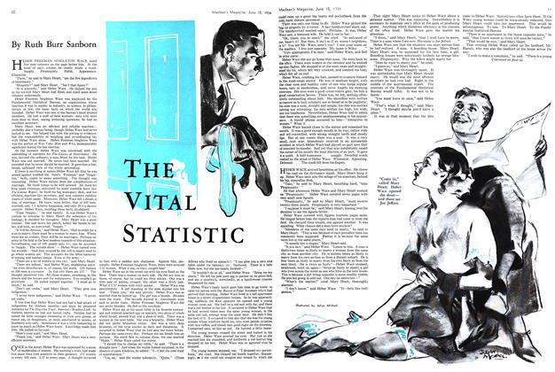 Article Preview: THE VITAL STATISTIC, June 15th 1934 1934 | Maclean's