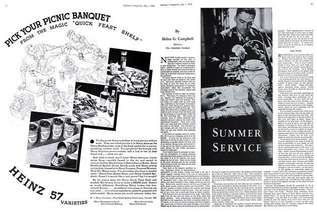Article Preview: SUMMER SERVICE, July 1st 1934 1934 | Maclean's