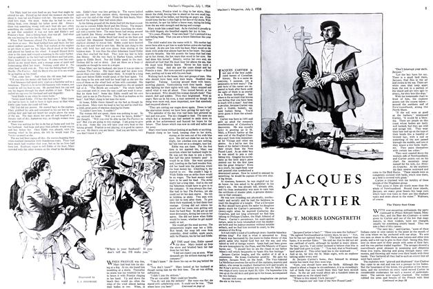 Article Preview: JACQUES CARTIER, July 1st 1934 1934 | Maclean's