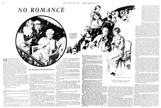 Article Preview: NO ROMANCE, July 1st 1934 1934 | Maclean's