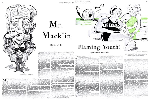 Article Preview: Mr. Macklin, July 1st 1934 1934 | Maclean's