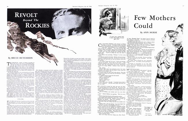 Article Preview: REVOLT Beyond The ROCKIES, July 1934 | Maclean's
