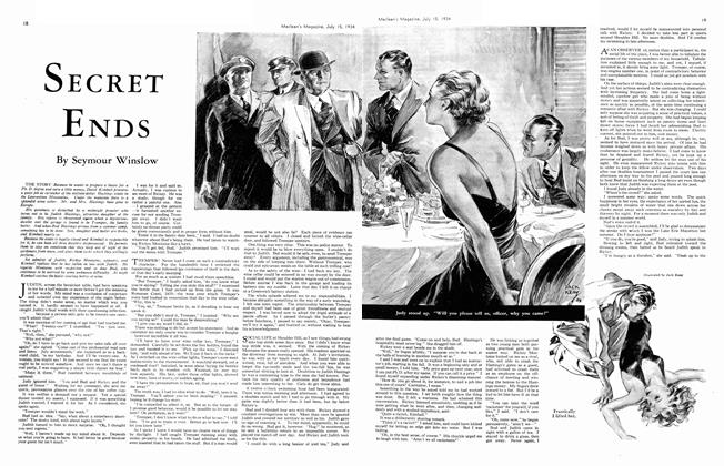 Article Preview: SECRET ENDS, July 1934 | Maclean's