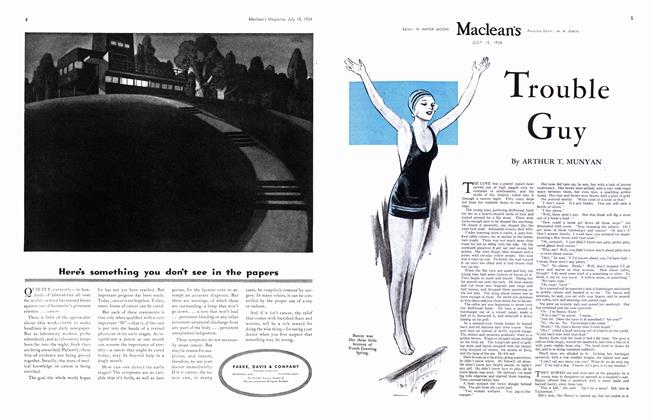 Article Preview: Trouble Guy, July 1934 | Maclean's