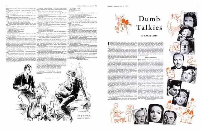 Article Preview: Dumb Talkies, July 1934 | Maclean's