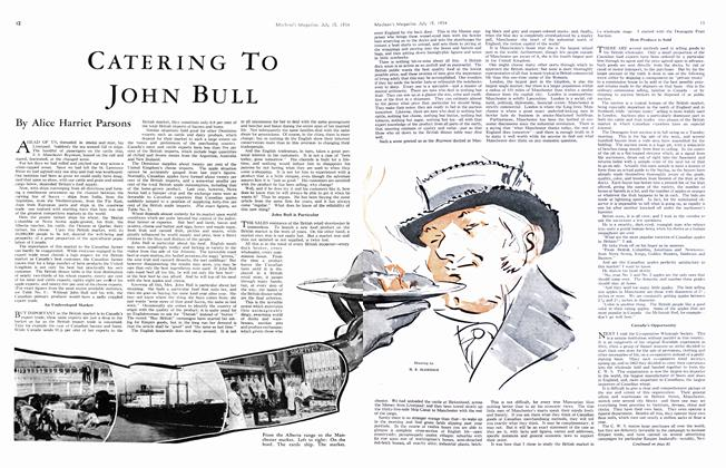 Article Preview: CATERING TO JOHN BULL, July 1934 | Maclean's