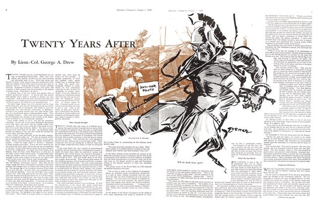 Article Preview: TWENTY YEARS AFTER, August 1934 | Maclean's