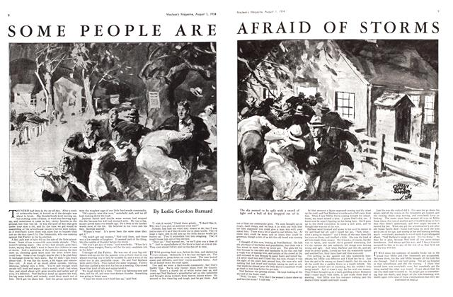 Article Preview: SOME PEOPLE ARE AFRAID OF STORMS, August 1934 | Maclean's