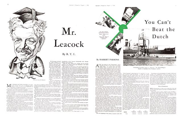 Article Preview: You Can't Beat the Dutch, August 1934 | Maclean's