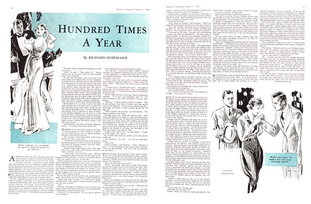 Article Preview: HUNDRED TIMES A YEAR, August 1934 | Maclean's