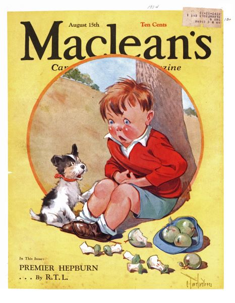 Issue: - August 1934   Maclean's