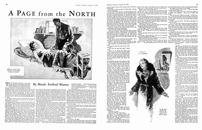 Article Preview: A PAGE from the NORTH, August 1934 | Maclean's