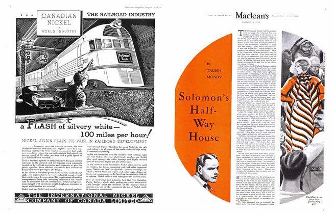 Article Preview: Solomon's HalfWay House, August 1934 | Maclean's