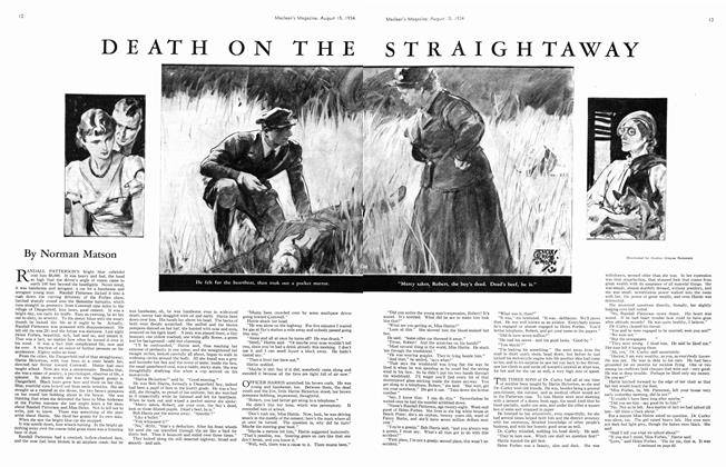Article Preview: DEATH ON THE STRAIGHTAWAY, August 1934 | Maclean's