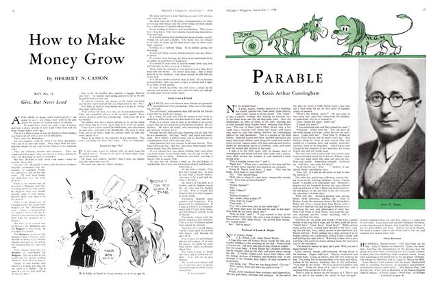 Article Preview: PARABLE, September 1934 | Maclean's