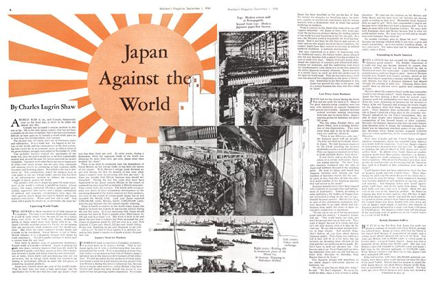 Article Preview: Japan Against the World, September 1934 | Maclean's