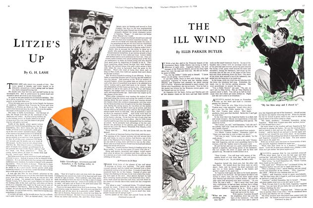 Article Preview: LITzIE's Up', September 1934 | Maclean's