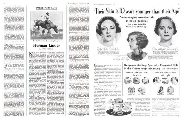 Article Preview: Herman Linder, September 1934 | Maclean's