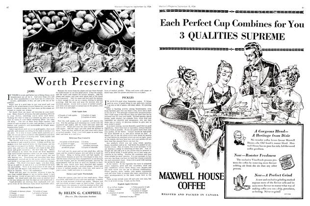 Article Preview: Worth Preserving, September 1934 | Maclean's
