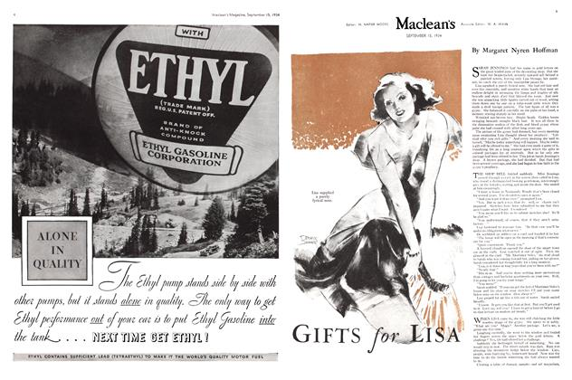Article Preview: GIFTS for LISA, September 1934 | Maclean's