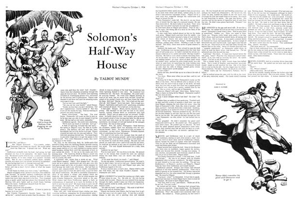 Article Preview: Solomon's Half-Way House, October 1st 1934 1934 | Maclean's