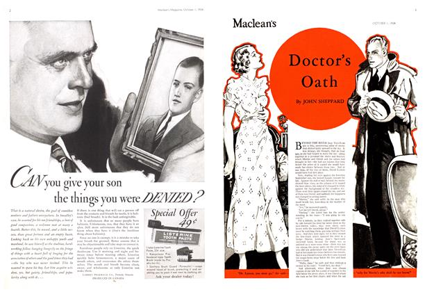 Article Preview: Doctor's Oath, October 1st 1934 1934 | Maclean's