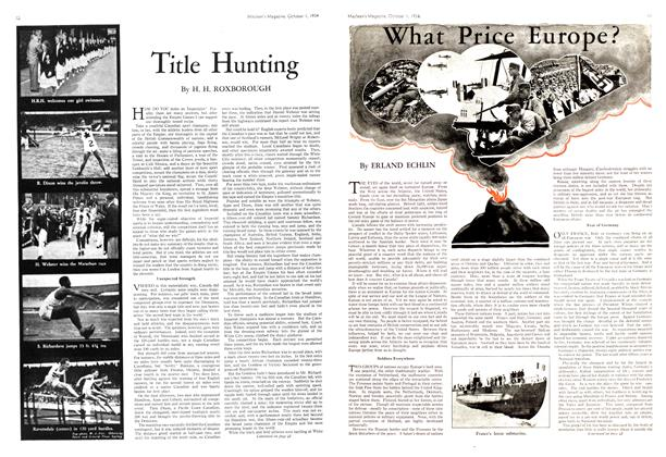 Article Preview: What Price Europe?, October 1st 1934 1934 | Maclean's