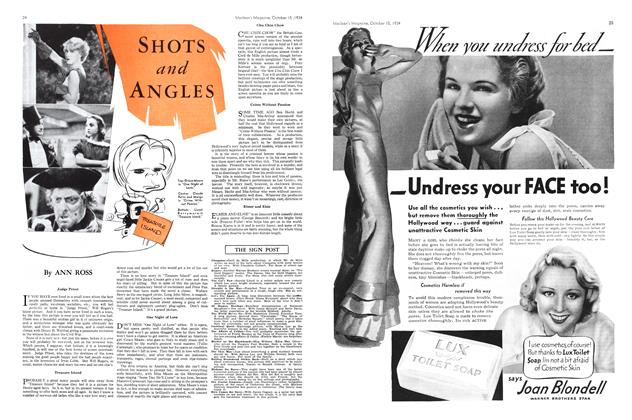 Article Preview: SHOTS and ANGLES, October 1934 | Maclean's