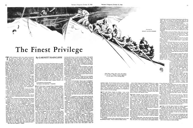 Article Preview: The Finest Privilege, October 1934 | Maclean's