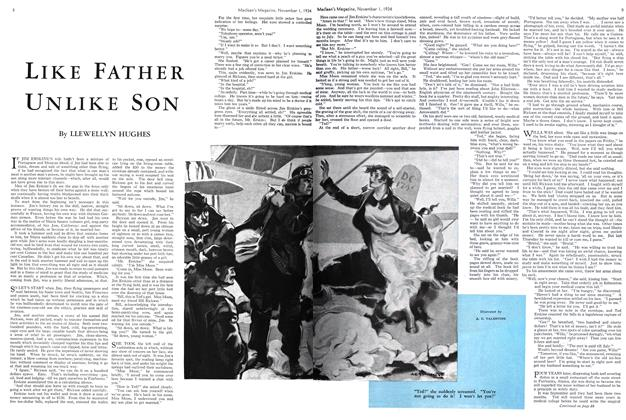 Article Preview: LIKE FATHER UNLIKE SON, November 1st 1934 1934 | Maclean's