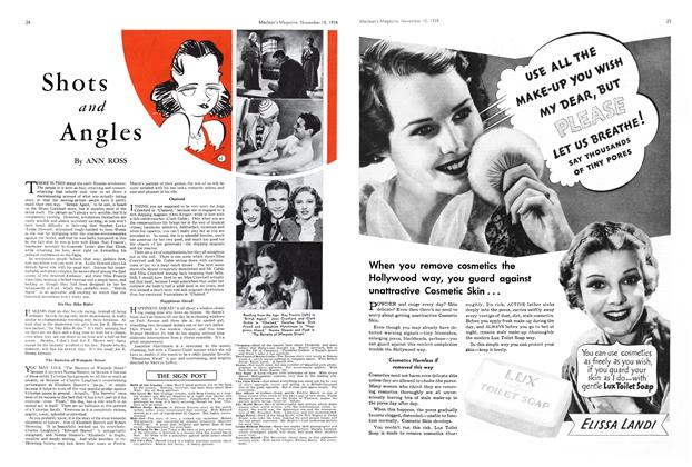 Article Preview: Shots and Angles, November 1934 | Maclean's