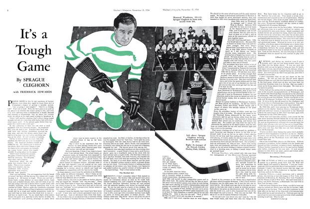 Article Preview: It's a Tough Game, November 1934 | Maclean's