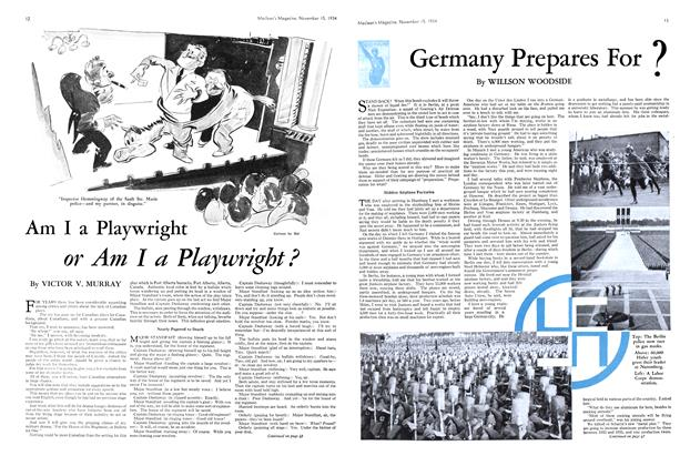 Article Preview: Germany Prepares For?, November 1934   Maclean's