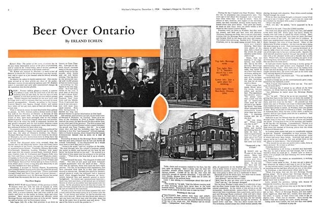 Article Preview: Beer Over Ontario, December 1934 | Maclean's