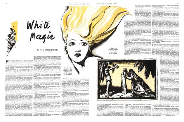 Article Preview: White Magic, December 1934 | Maclean's