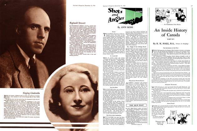 Article Preview: Shots and Angles, December 1934 | Maclean's