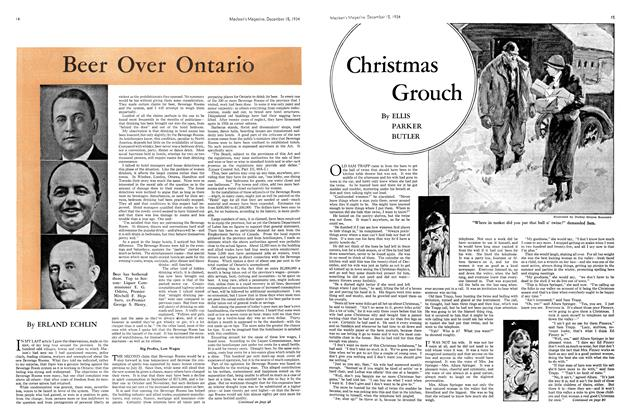 Article Preview: Christmas Grouch, December 1934 | Maclean's